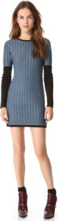 10 Crosby by Derek Lam Cable Knit Dress