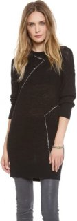 10 Crosby by Derek Lam Distressed Knit Tunic
