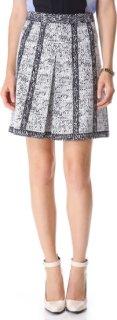 10 Crosby by Derek Lam Inverted Pleat Skirt