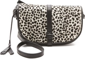10 Crosby by Derek Lam Leopard Lola Haircalf Bag