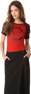 10 Crosby by Derek Lam Logo Raglan T-Shirt