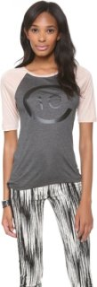 10 Crosby by Derek Lam Short Sleeve Logo T-Shirt