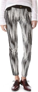 10 Crosby by Derek Lam Slim Tuxedo Stripe Pants
