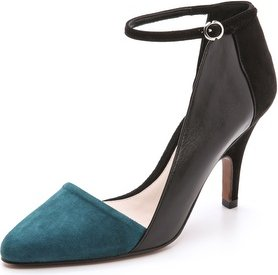 10 Crosby by Derek Lam Val Asymmetrical Pumps