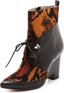 10 Crosby by Derek Lam Yola Wedge Booties