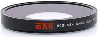 16x9 Ex II 0.45x Super Fisheye Lens Adapter For Sony HDR-FX7 and HVR-V1U Camcorders