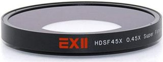 16x9 ExII 0.45x Super Fisheye Lens Adapter for Sony PMW-EX1 and PMW-EX3 Camcorders and Camcorders With 77mm Filter Thread