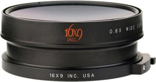 16x9 EXII 0.8X Bayonet Mount Wide Converter Lens for Sony Z5 Z7 S270 and FX1000 Camcorders