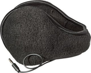180s Discovery Headphone Ear Warmer - Black