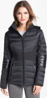 1 Madison Down Jacket with Detachable Soft Shell Hood Small