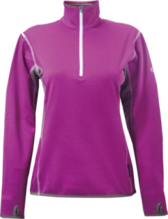 2117 Of Sweden Gotland Power 1/4 Zip Fleece Purple