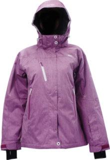 2117 Of Sweden Vasterbotten Ski Jacket Cerise Print