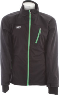 2117 Of Sweden Malmo Softshell Black/Green Zip