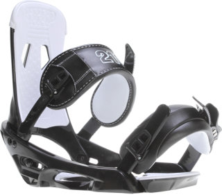 2117 Of Sweden Storm Snowboard Bindings Black/White (CW1)