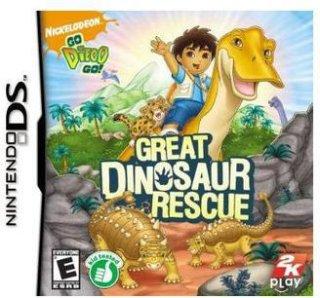 2K Games Go Diego Go Great Dinosaur Rescue (Nintendo DS)