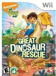 2K Games Go Diego Go Great Dinosaur Rescue (Nintendo Wii)