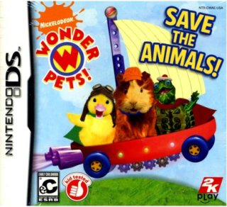2K Games Wonder : Save the Animals (Nintendo DS)