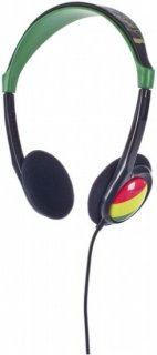 2Xl Grid Headphones Rasta