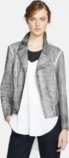 3.1 Phillip Lim Cracked Leather Moto Jacket