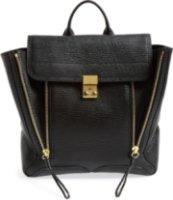 3.1 Phillip Lim Pashli Leather Backpack Black
