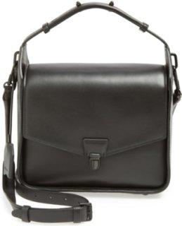 3.1 Phillip Lim Wednesday Leather Shoulder Bag Black