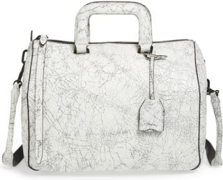 3.1 Phillip Lim Wednesday - Medium Cracked Leather Satchel