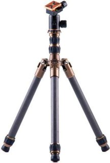 """3 Legged Thing X0 Keith Evolution 2 Tripod With AirHed 0 Ball Head 31.5"""" Maximum Height 26.45lbs Load Capacity 11.81"""" Long Folded Black"""