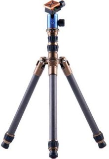 "3 Legged Thing X0 Keith Evolution 2 Tripod With AirHed 0 Ball Head 31.5"" Maximum Height 26.45lbs Load Capacity 11.81"" Long Folded Blue"