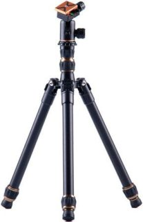 "3 Legged Thing X0a Tim Evolution 2 Compact Magnesium Alloy Tripod System with AirHed 0 Ball Head 29.68"" Max Height 26.45 lbs Load Capacity Black"