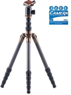 "3 Legged Thing X1.1 Brian Evolution 2 Carbon Fiber Tripod System with AirHed 1 Ball Head 78.7"" Maximum Height 17.60lbs Load Capacity Black"