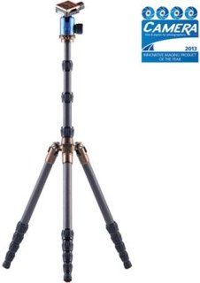 "3 Legged Thing X1.1 Brian Evolution 2 Carbon Fiber Tripod System with AirHed 1 Ball Head 78.7"" Maximum Height 17.60lbs Load Capacity Blue"