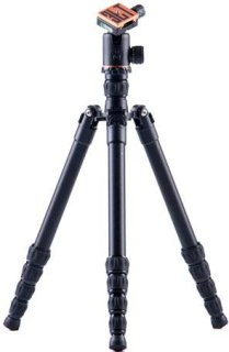 "3 Legged Thing X2.1a Dave Evolution 2 Magnesium Alloy Tripod System with AirHed 2 60.23"" Maximum Height 26.45 lbs Load Capacity Black"