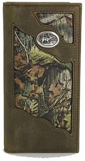 3D Camo and Leather Rodeo Wallet