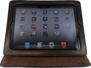 3D Floral Embossed Leather iPad Cover