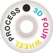 3D Four Wheel Process Wheels