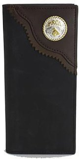 3D Two-Tone Leather Rodeo Wallet