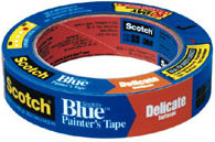 "3M 2080 Blue Mask Tape - 3/4"" wide"