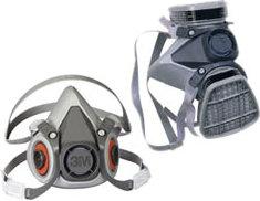 3M 6000 Series Dual-Cartridge Respirators