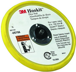 "3M 6"" Hookit Low Profile Sanding Disc Pad"