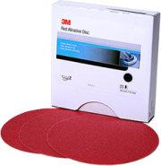 3M 6  Red Abrasive Stikit Disc