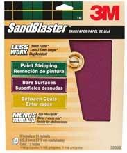 3M Sandblaster Sandpaper - 3 Pack Assortment
