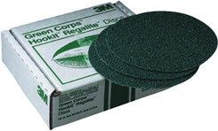 "3M 8"" Green Corps Hookit Regalite Sanding Disc 60E"