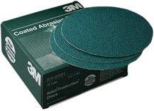 "3M 8"" Green Corps Stikit Resin Bond Discs"