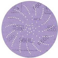 """3M Clean Sanding Disc 360L 5"""" P600 (100)"""