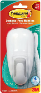 3M Command Large Bathroom Hook