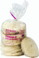 3M Finesse-it Natural Buffing Pad 81470 (10)
