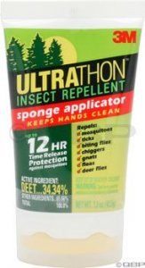 3M First Aid Insect Repellent: Lotion with wipe on sponge: 1.5oz