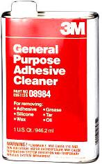3M General Adhesive Cleaner - Quart