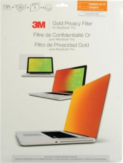 "3M GPFMP15 Privacy Filter Screen for 15"" MacBook Pro Gold"