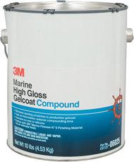 3M High Gloss Gelcoat Compound Gallon